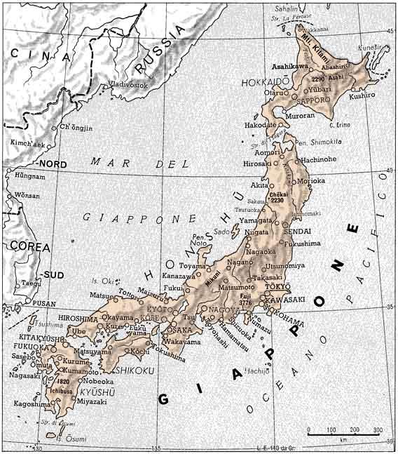 Cartina Italia Giappone.Intercultura A Brescia Scienza Giovanissimi